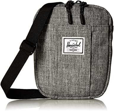 Amazon.com  Herschel Cruz Cross Body Bag Raven Crosshatch One Size 9e797bd1f35e4