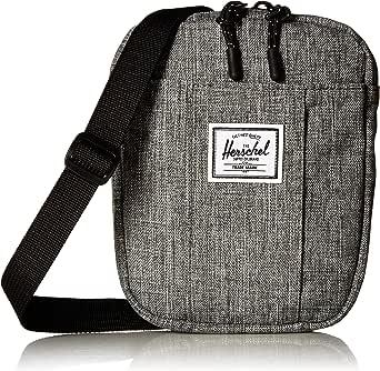 Herschel Cruz Unisex Crossbody Bag - Polyester, Raven Crosshatch (Grey (Raven Crosshatch) 10510-00919-OS)
