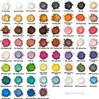 Arteza Polvos de mica, colorante para jabones, pigmentos