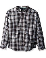 G.H. Bass & Co. Men's Big and Tall Madawaska Trail Long Sleeve Shirt