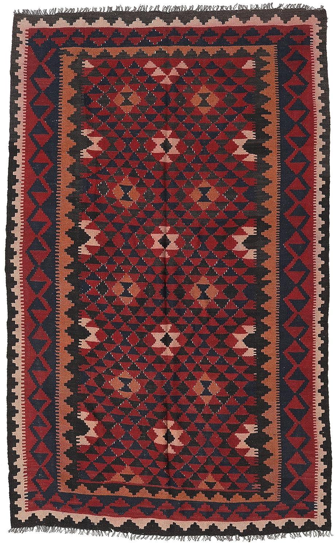 2.5 x 5 2.5 x 5 NOVICA 97347 Copper Arrow Zapotec Wool Rug