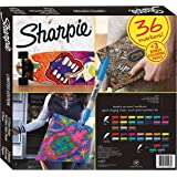 Sharpie Limited Edition Set 36 Markers + Bonus Coloring Pages
