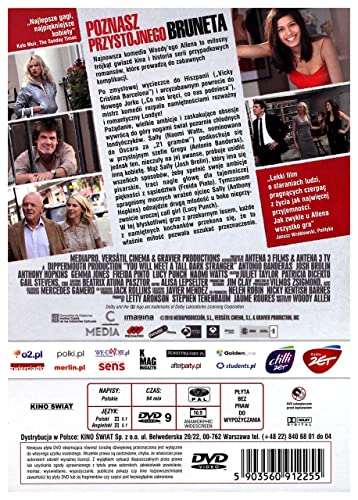 You Will Meet a Tall Dark Stranger DVD IMPORT No hay versión ...