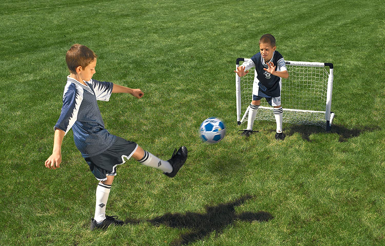 amazon com franklin sports mls 2 goal set 54 inch sports