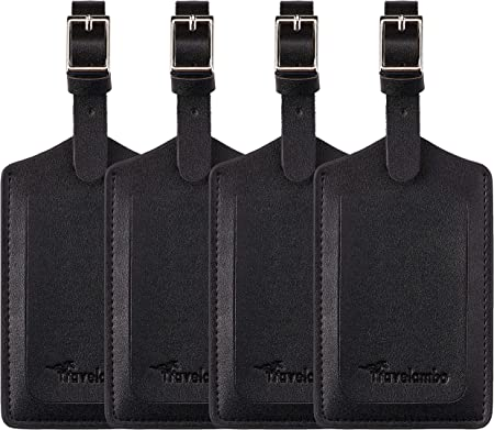 Travelambo Adjustable Privacy Luggage Tag