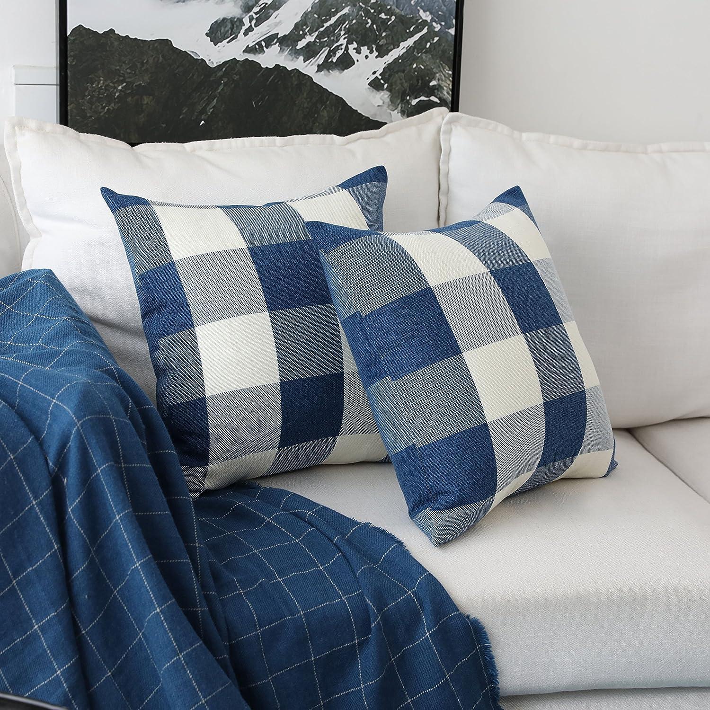 Amazon.com: HOME BRILLIANT Pack de 2 modernos cuadros manta ...