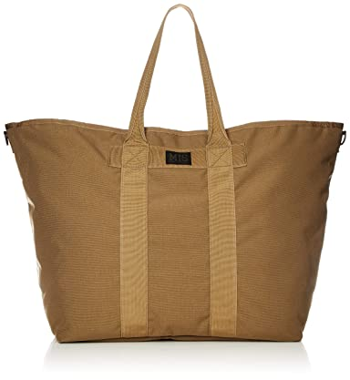 MIS Super Tote Bag MIS-1008: Coyote Brown