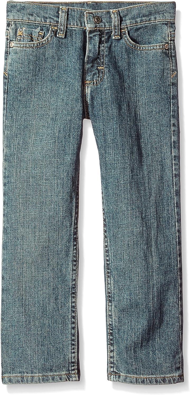 Wrangler Boys' Little Straight Fit Stretch Jean