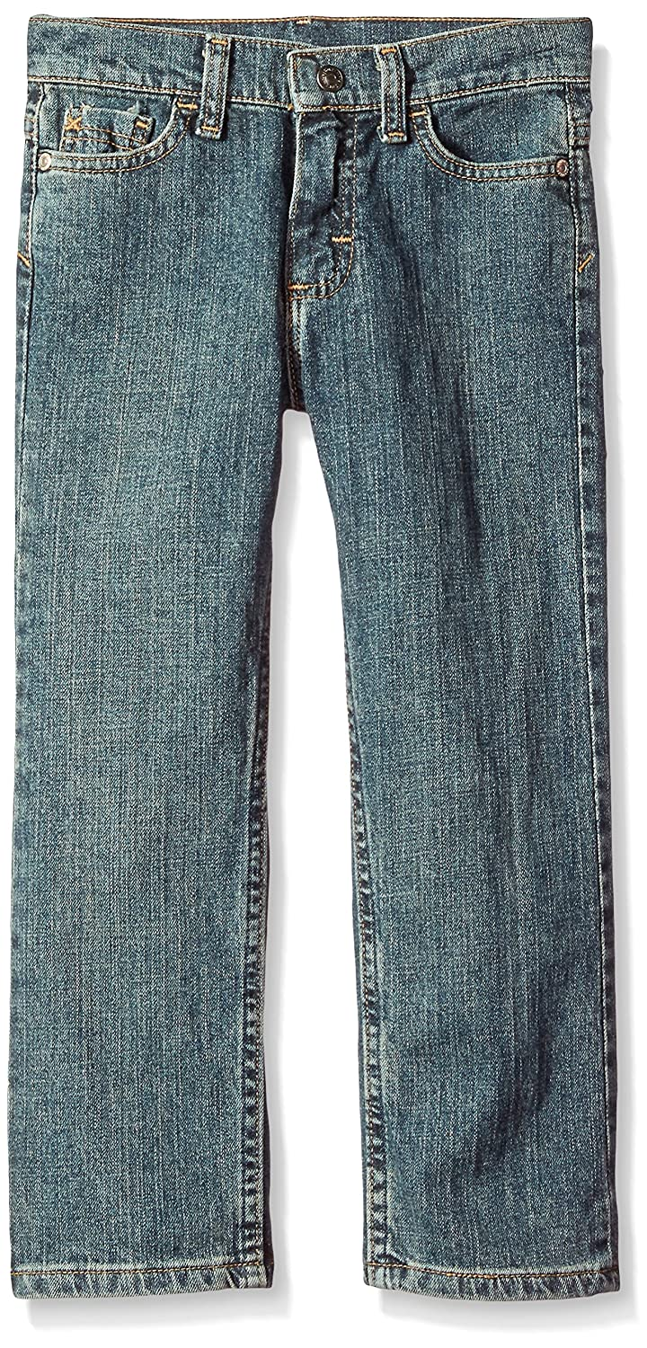 86f1d71b Amazon.com: Wrangler Authentics Boys' Husky Authentics Straight Fit Stretch  Jean, Sun Kissed Denim, 18H: Clothing