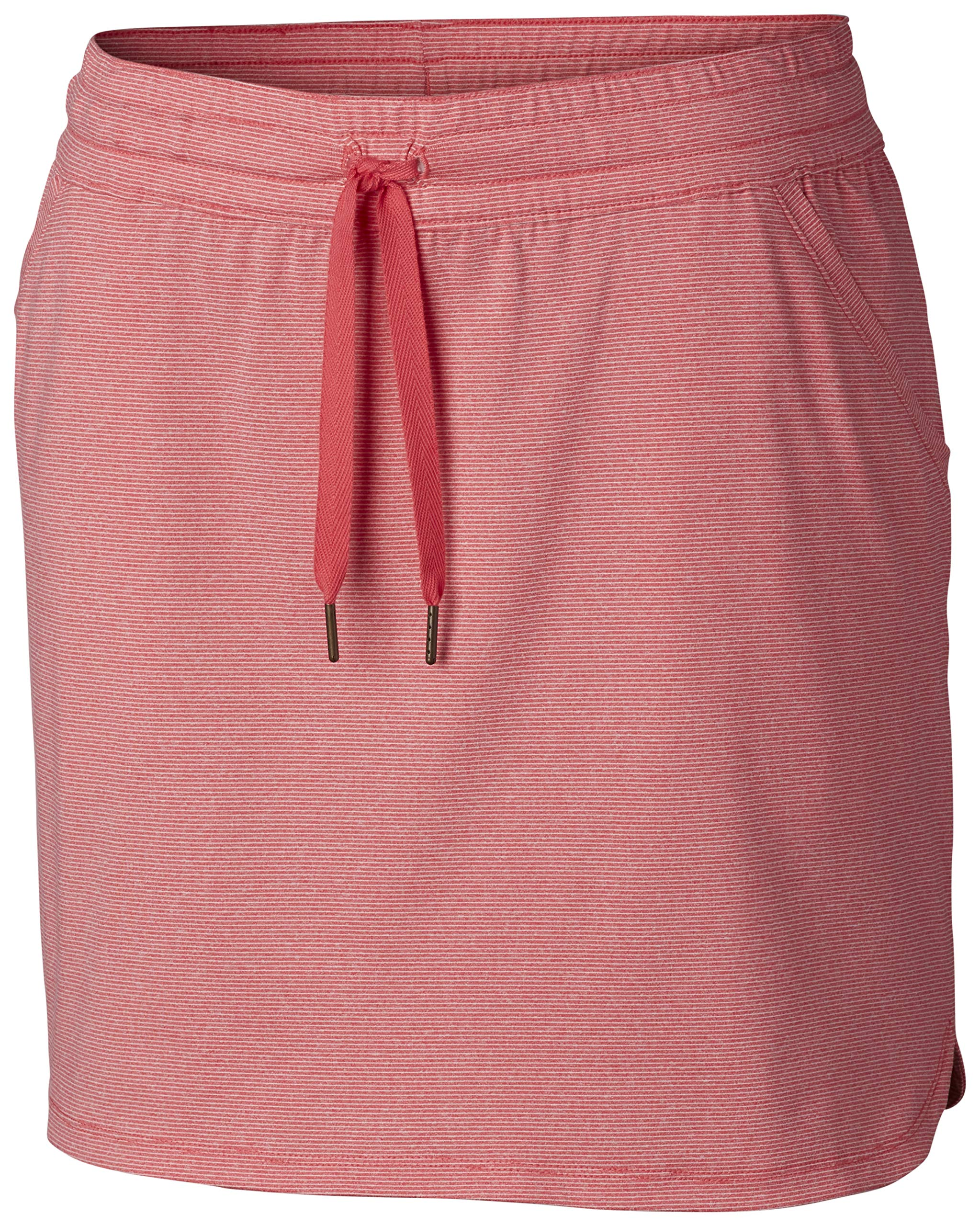 Columbia Women's Reel Relaxed Skirt, Bright Geranium, Small by Columbia