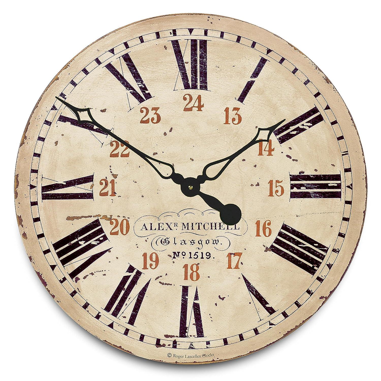 Roger lascelles roger lascelles railway station clock amazon roger lascelles roger lascelles railway station clock amazon kitchen home amipublicfo Gallery