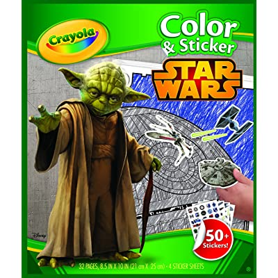 Crayola Star Wars Color & Sticker Book: Toys & Games
