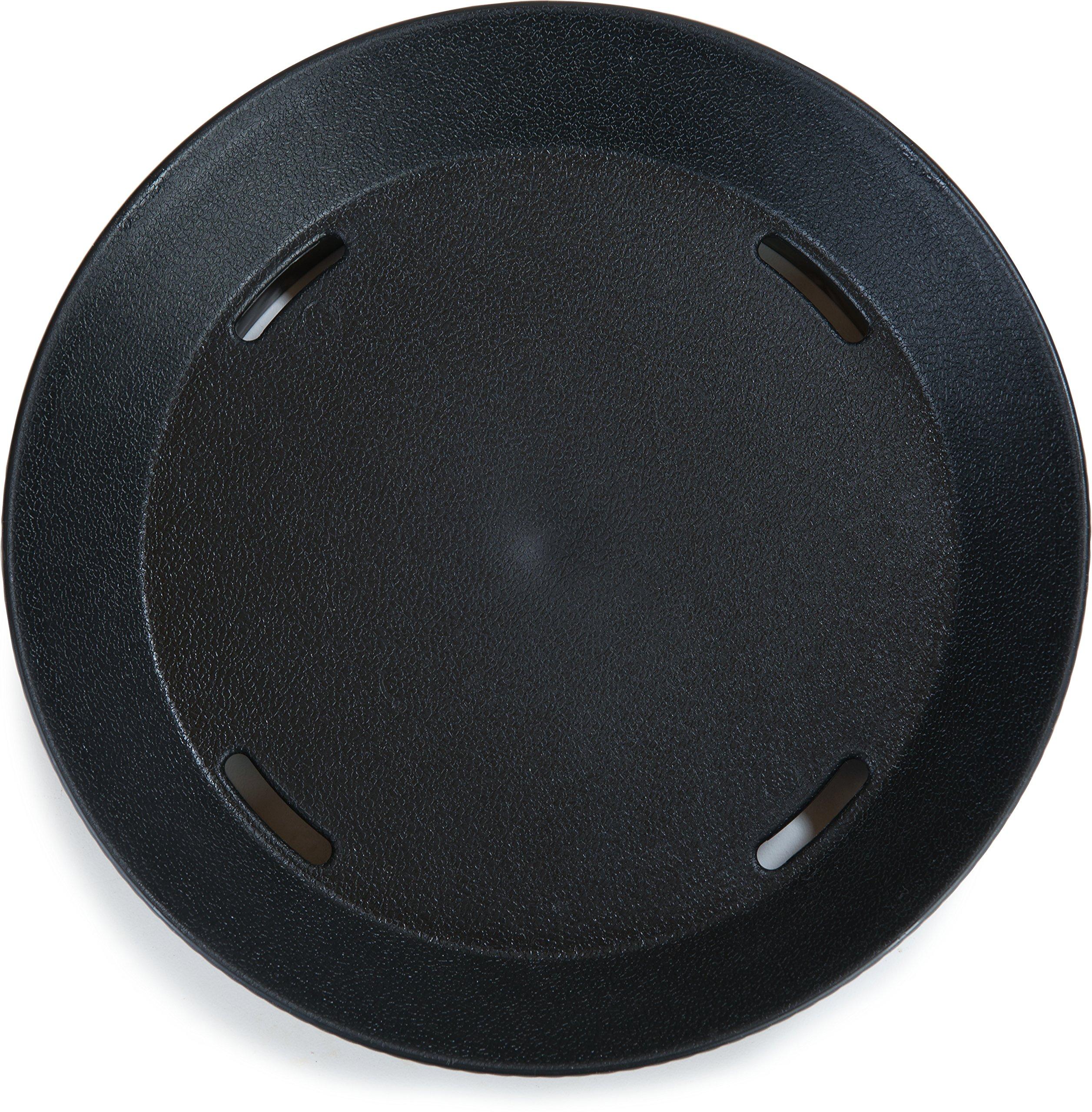 Carlisle 652803 WeaveWear Round Serving Basket, 9'', Black (Pack of 12) by Carlisle (Image #8)