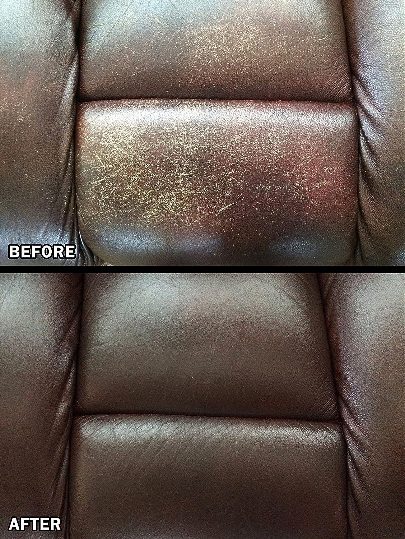 Amazon Com Leathernu Complete Leather Color Restoration Repair Kit Kitchen Dining