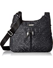 Baggallini womens LCC102B0018 Cross Over Crossbody Black/Sand