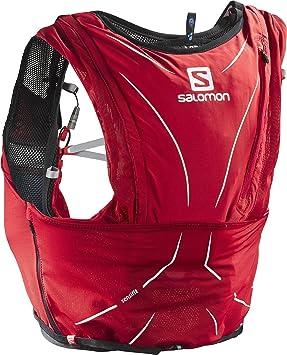 Salomon gear Adv Skin Sac d'Hydratation Mixte Adulte, Matador/Noir, XXS