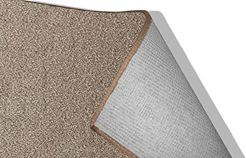 Koeckritz 9 x12 Indoor Frieze Shag Area Rug – Black Sand II 40 oz – Plush Textured Carpet with Premium Bound Polyester Edges.