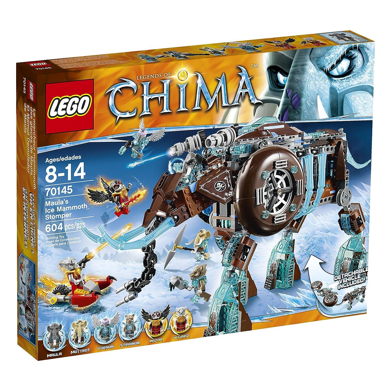 Amazon Lego Chima 70145 Maulas Ice Mammoth Stomper Building