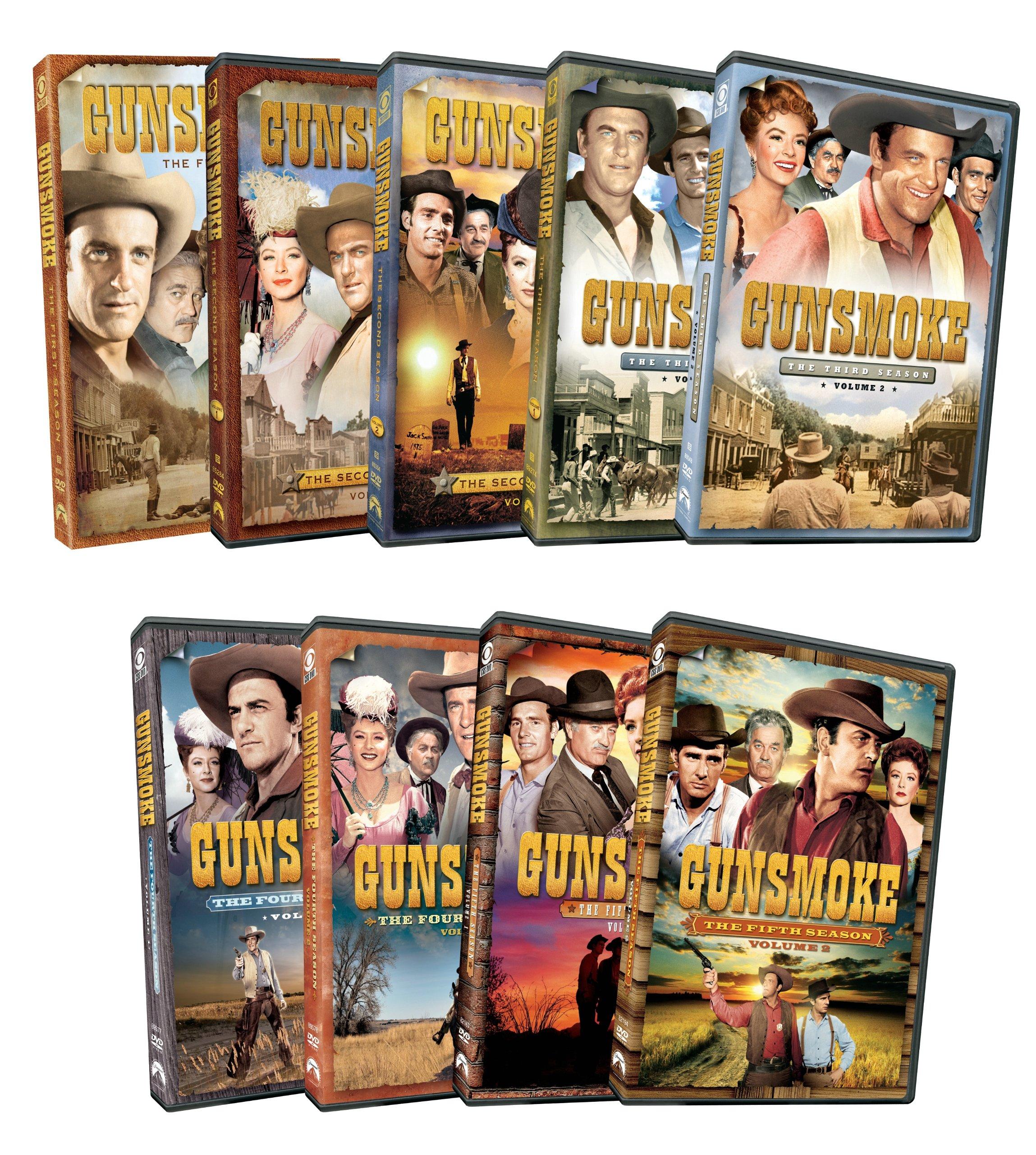 Gunsmoke: Seasons 1-5 by Paramount