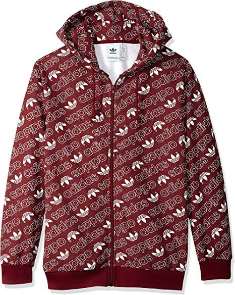 adidas Originals Men's Monogram Full Zip Hoodie