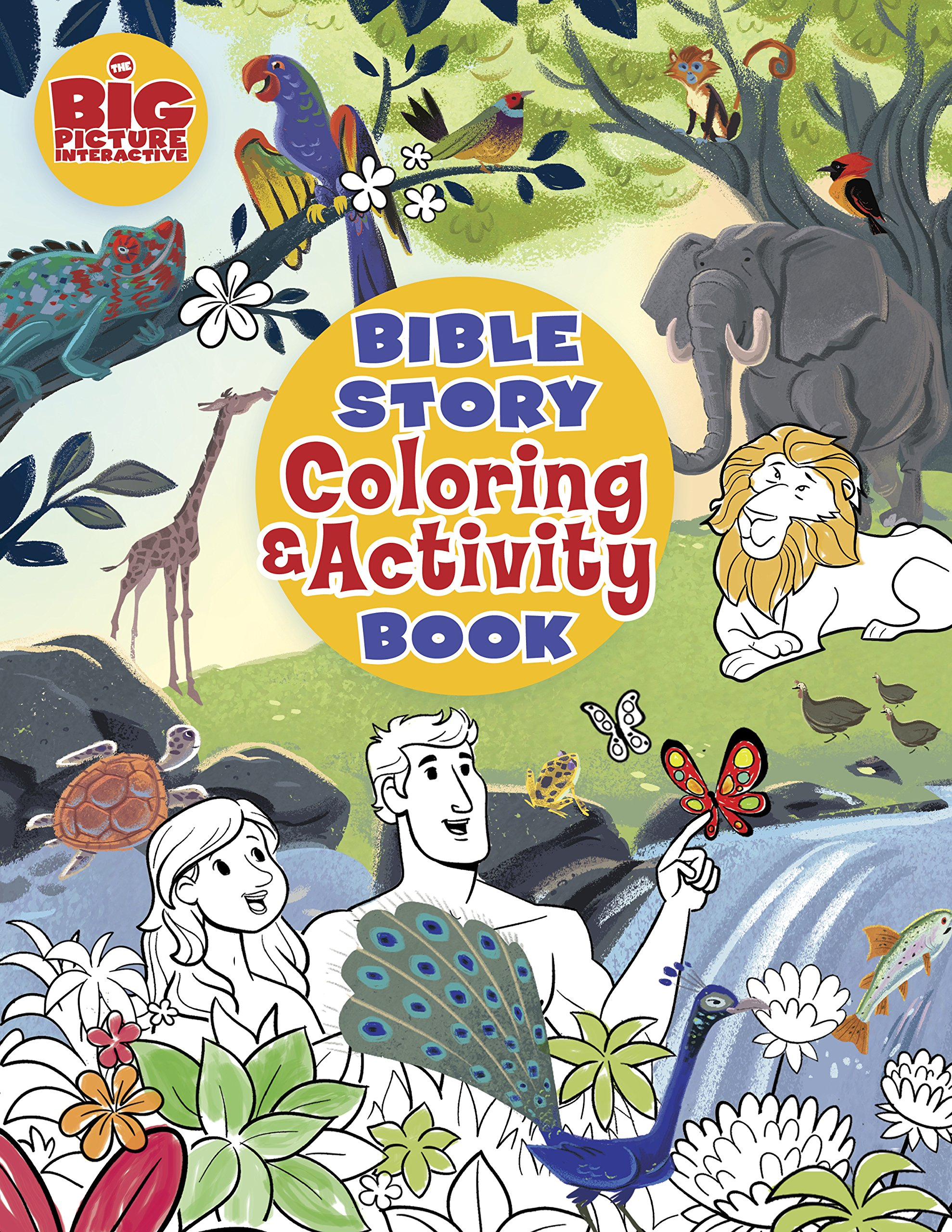 Bible Story Coloring And Activity Book The Big Picture Interactive Gospel Project BH Kids Editorial Staff 9781462745166 Amazon Books