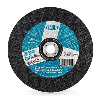Tyrolit 222044 Basic 2In1 Discos De Corte, 42, A30Q-Bf, 230 X 3.0 X 22.23 Mm Dimensiones, Caja De 25: Amazon.es: Industria, empresas y ciencia