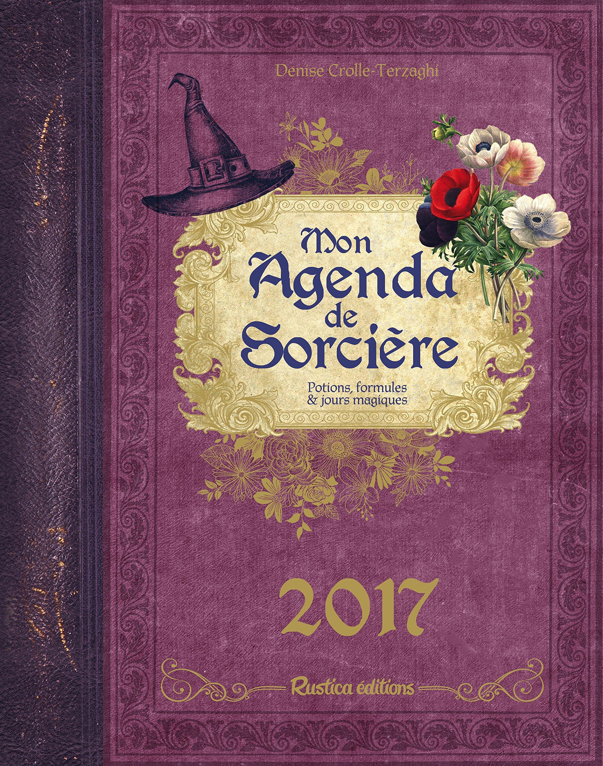 Mon agenda de sorcière : Potions, formules & jours magiques ...