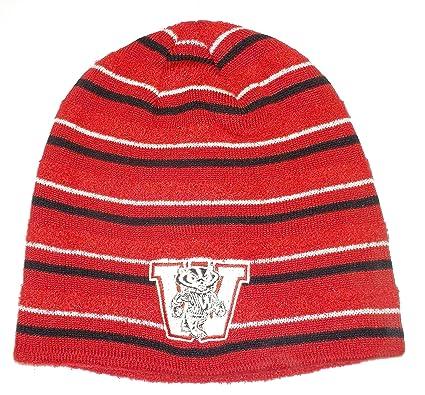 4adac8b2965 Amazon.com   Wisconsin Badgers Adidas NCAA Knit Vintage Beanie Toque ...