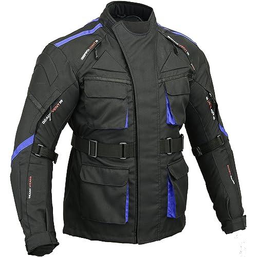 Veste Armure Moto Blouson Motard Gilet Protection  É quipement de Moto  Cross Scooter VTT Enduro 003719896ee2