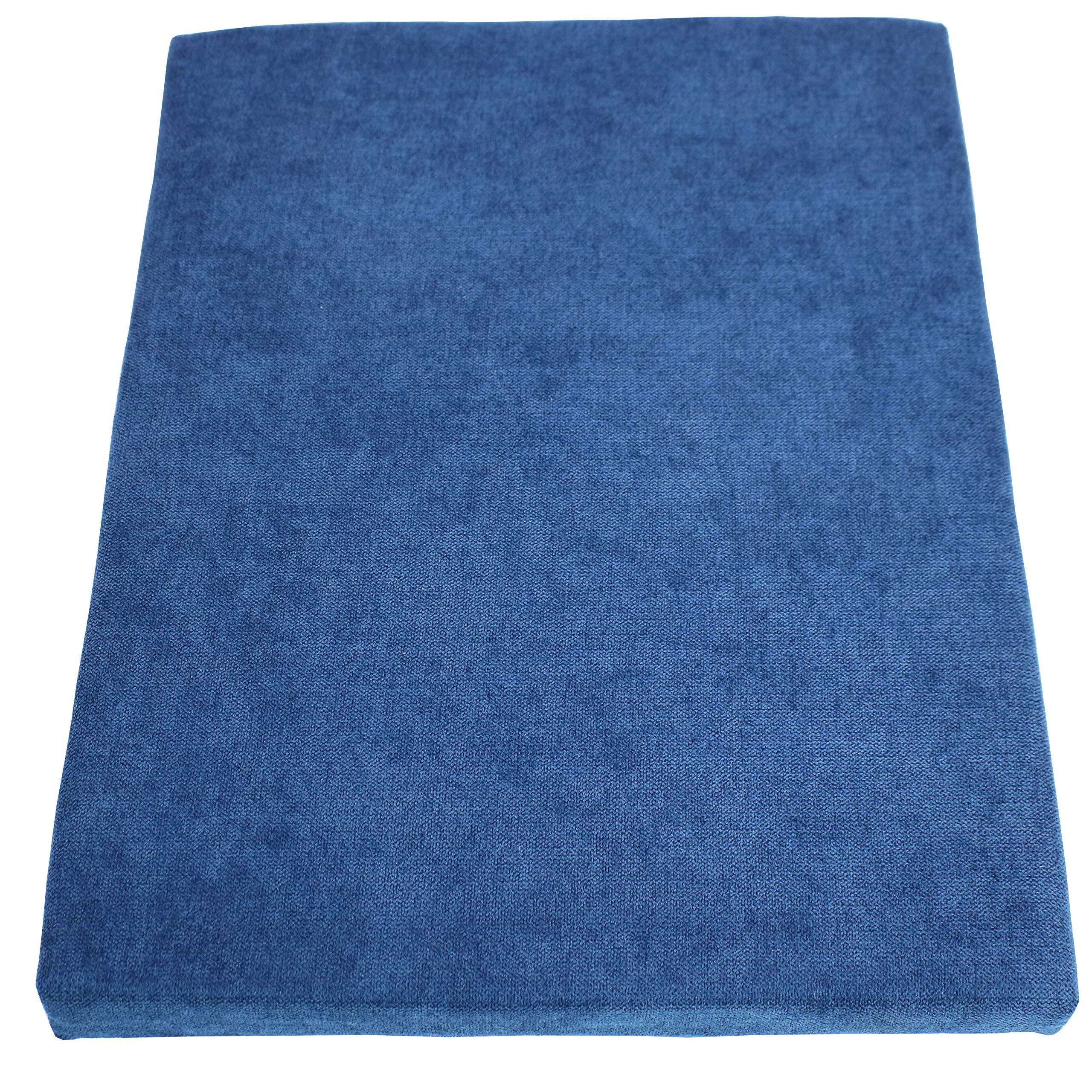 CASL Brands File Cabinet Cushion Seat Top for Mobile Pedestals, Magnetic Back, Blue by CASL Brands (Image #3)