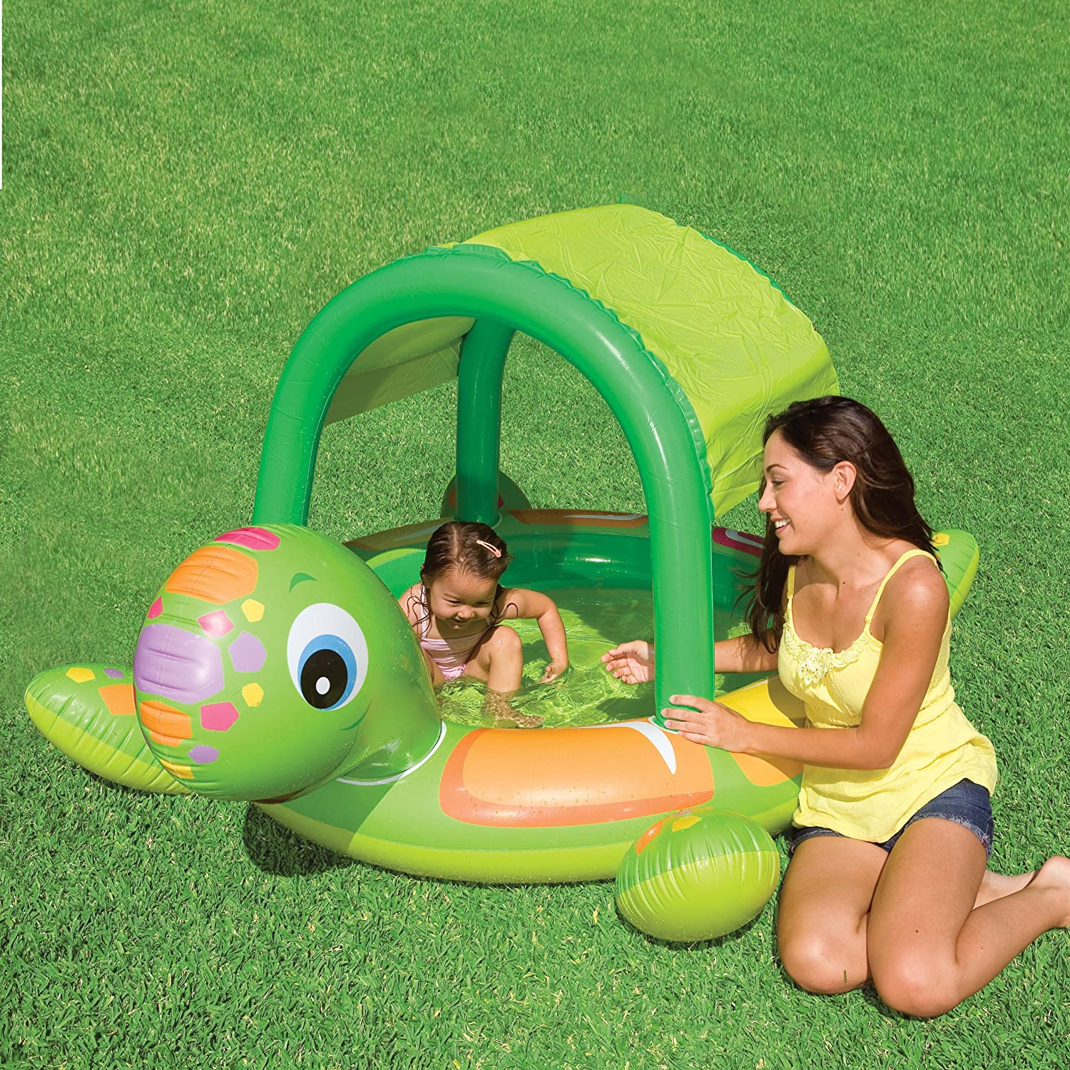 Amazon Intex Turtle Baby Pool Toys & Games