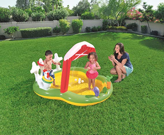 Piscina Hinchable Infantil Bestway Lil Farmer Play Center 175x147x102 cm