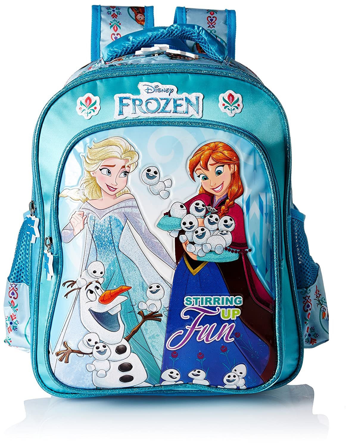 Frozen Magic Blue School Bag for Children of Age Group 3 - 5
