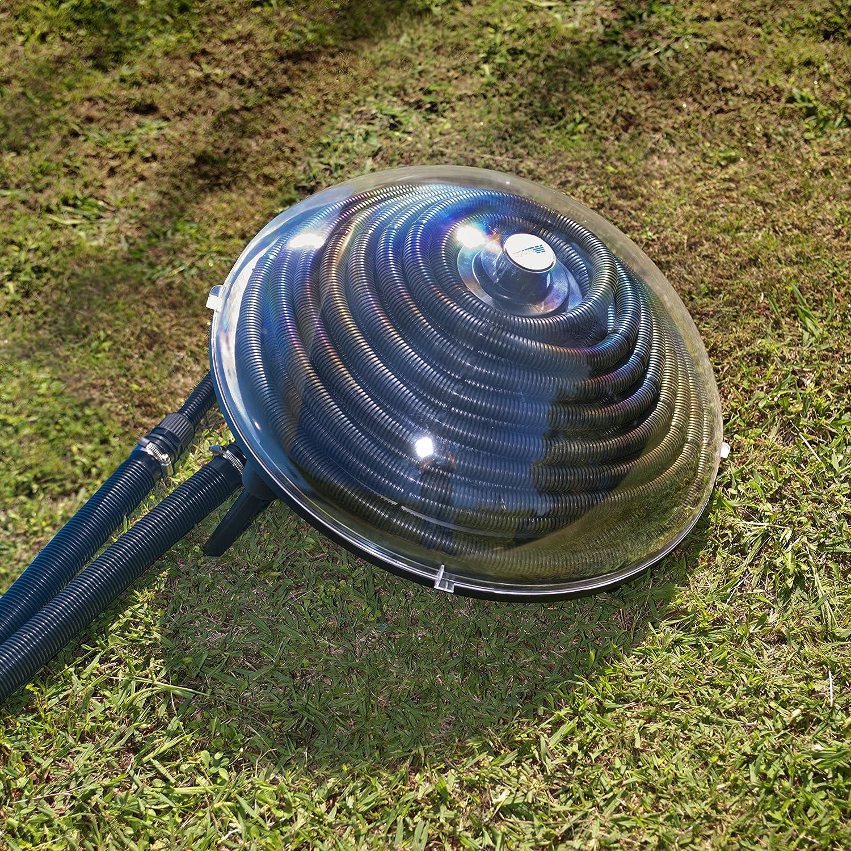 Gre 90230 - Calentador solar para piscina sobre suelo de entre 7, 5m3 y 10m3: Amazon.es: Jardín