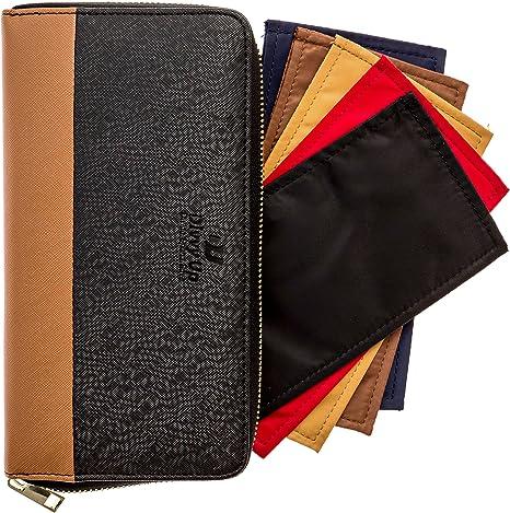 The Great Divide - Cash Budget Wallet with 5 Magnetic Cash Envelopes