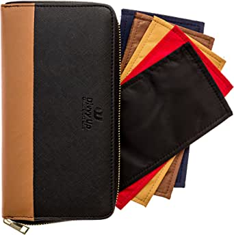 The Great Divide. A Cash System Wallet with 5 Magnetic Cash Envelopes by Divvy Up.