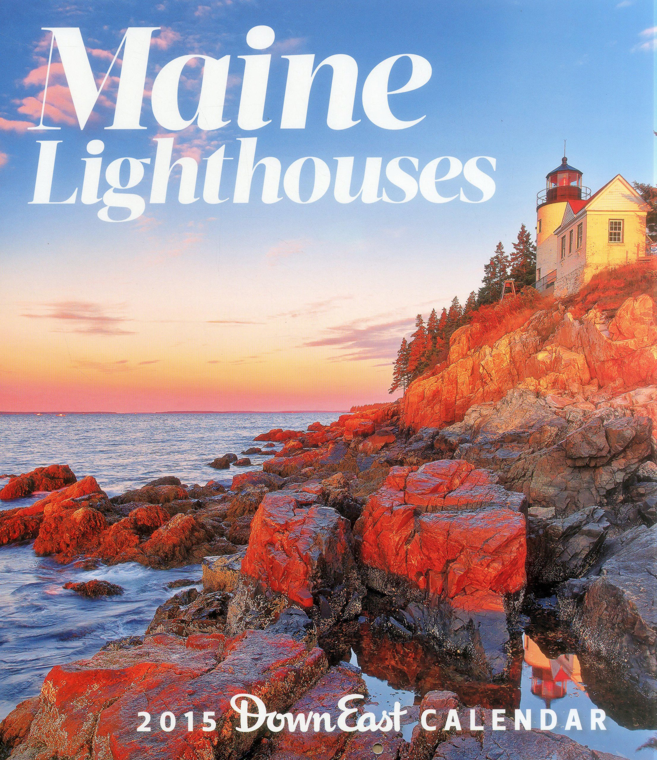 Maine Lighthouses Calendar
