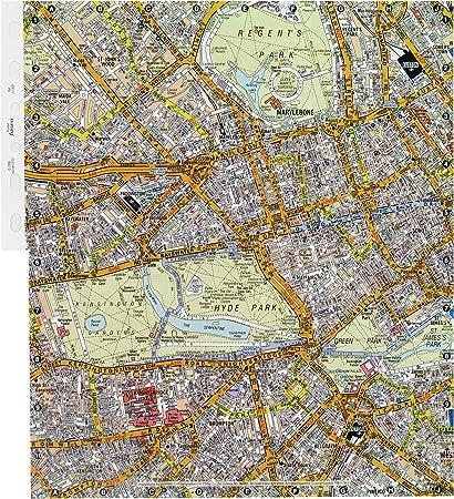 Cartina Stradale Londra.Filofax Cartina Stradale Di Londra Amazon It Cancelleria E Prodotti Per Ufficio