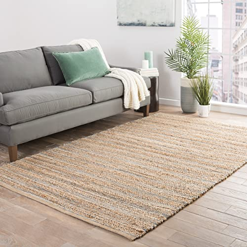 Jaipur Living Canterbury Natural Fiber Solid Neutral Area Rug 9' X 12'