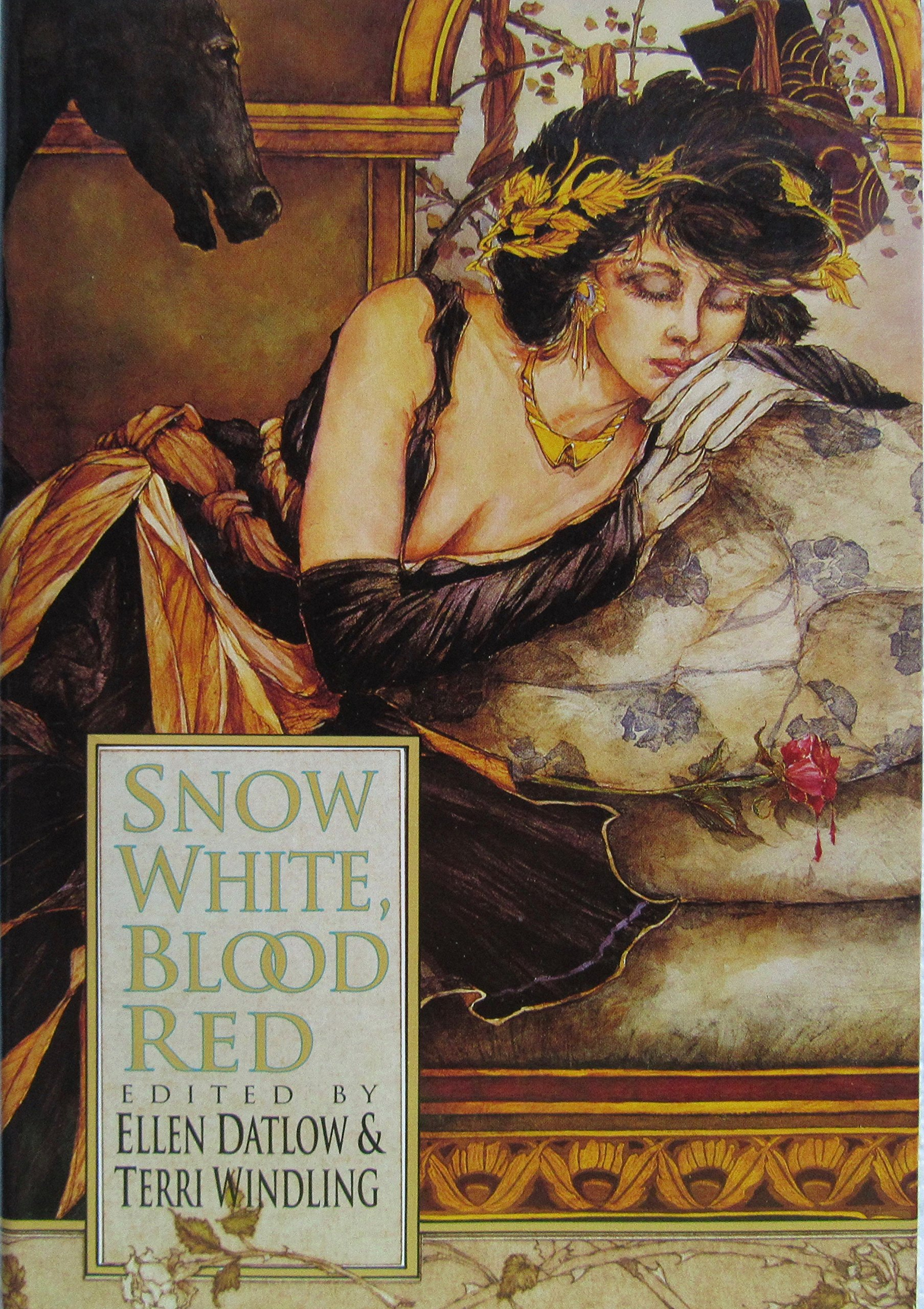 Snow White, Blood Red cover