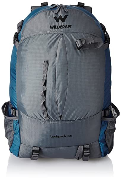 fadb919e46 Wildcraft Techpack 35 Ltrs Blue Rucksack (8903338002864)  Amazon.in  Bags