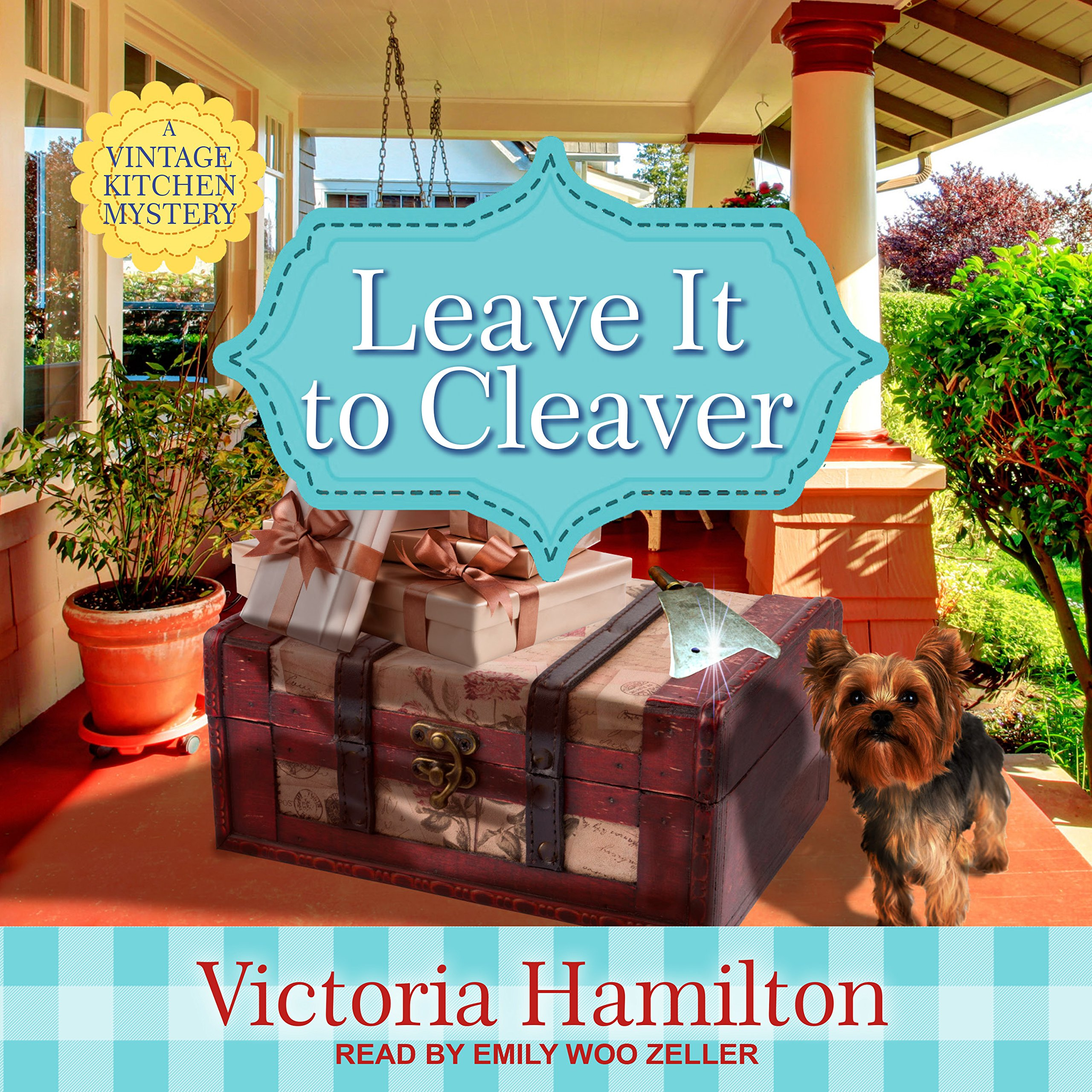 Leave It to Cleaver (Vintage Kitchen Mystery): Victoria Hamilton ...