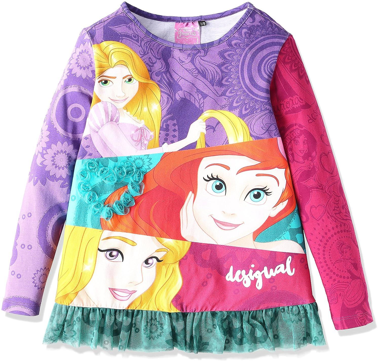Desigual T-Shirt Mickey Maglietta a Maniche Lunghe Bambina