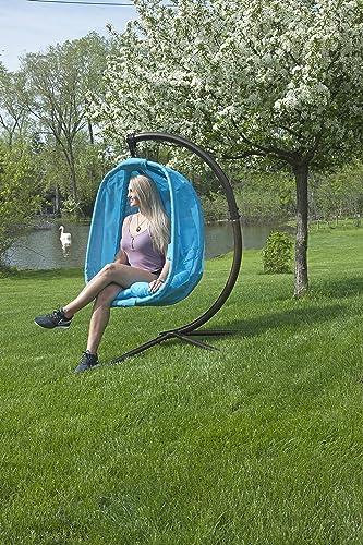 Flower House FHEC100-LB Egg Chair