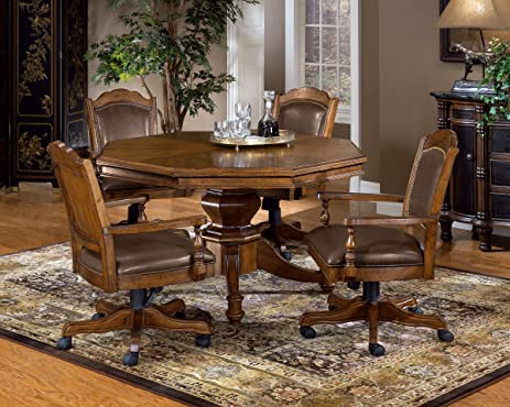 Hillsdale Furniture 6060GTB Nassau Game Table In Brown,