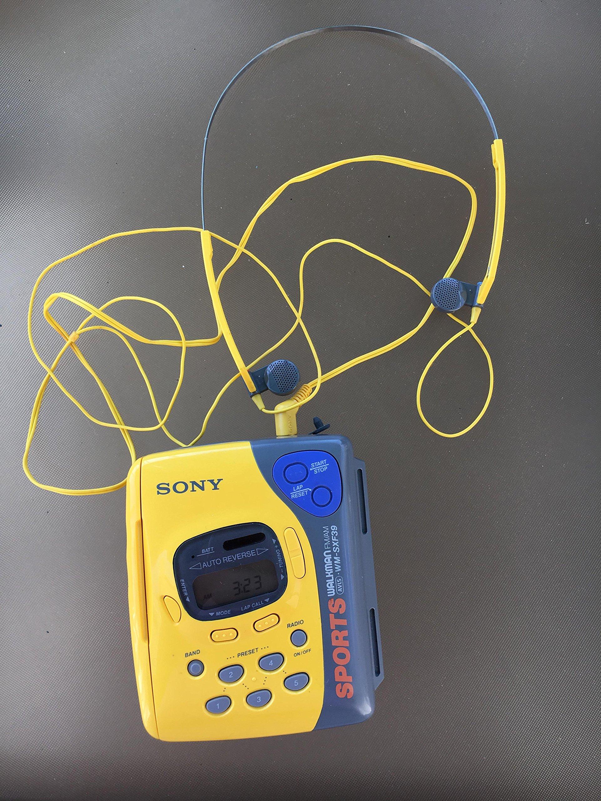 Sony Sports Walkman WM-FS191 AM/FM Radio and Cassette Player