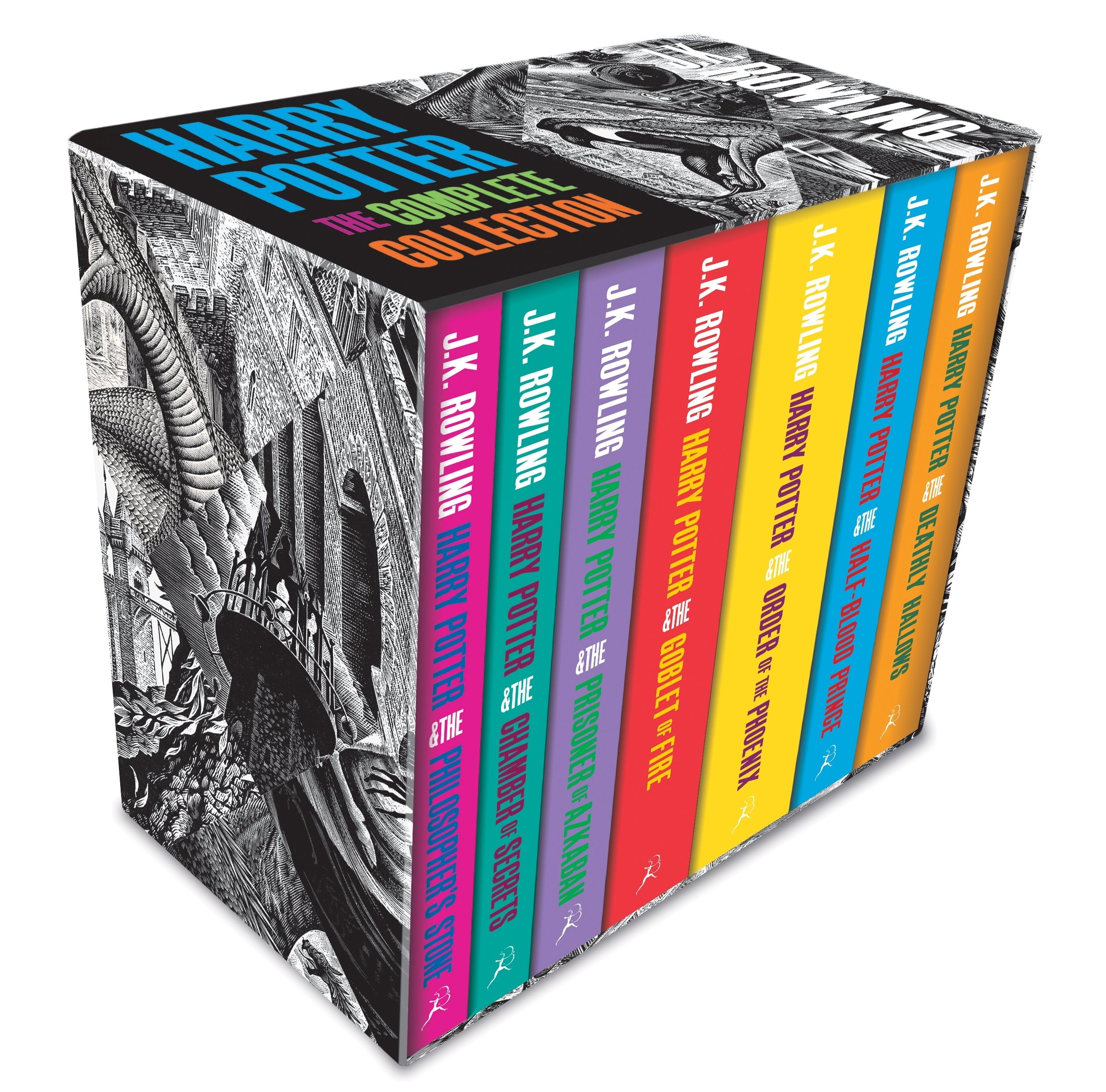 Harry Potter Boxed Set. The Complete Collection: Amazon.es ...