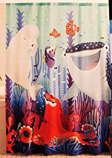 Jumping Bean Disney Pixar Finding Dory Shower Curtain