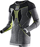 X-Bionic Apani Merino by Man UW Shirt LG_SL. Roundneck Ropa Interior, Hombre
