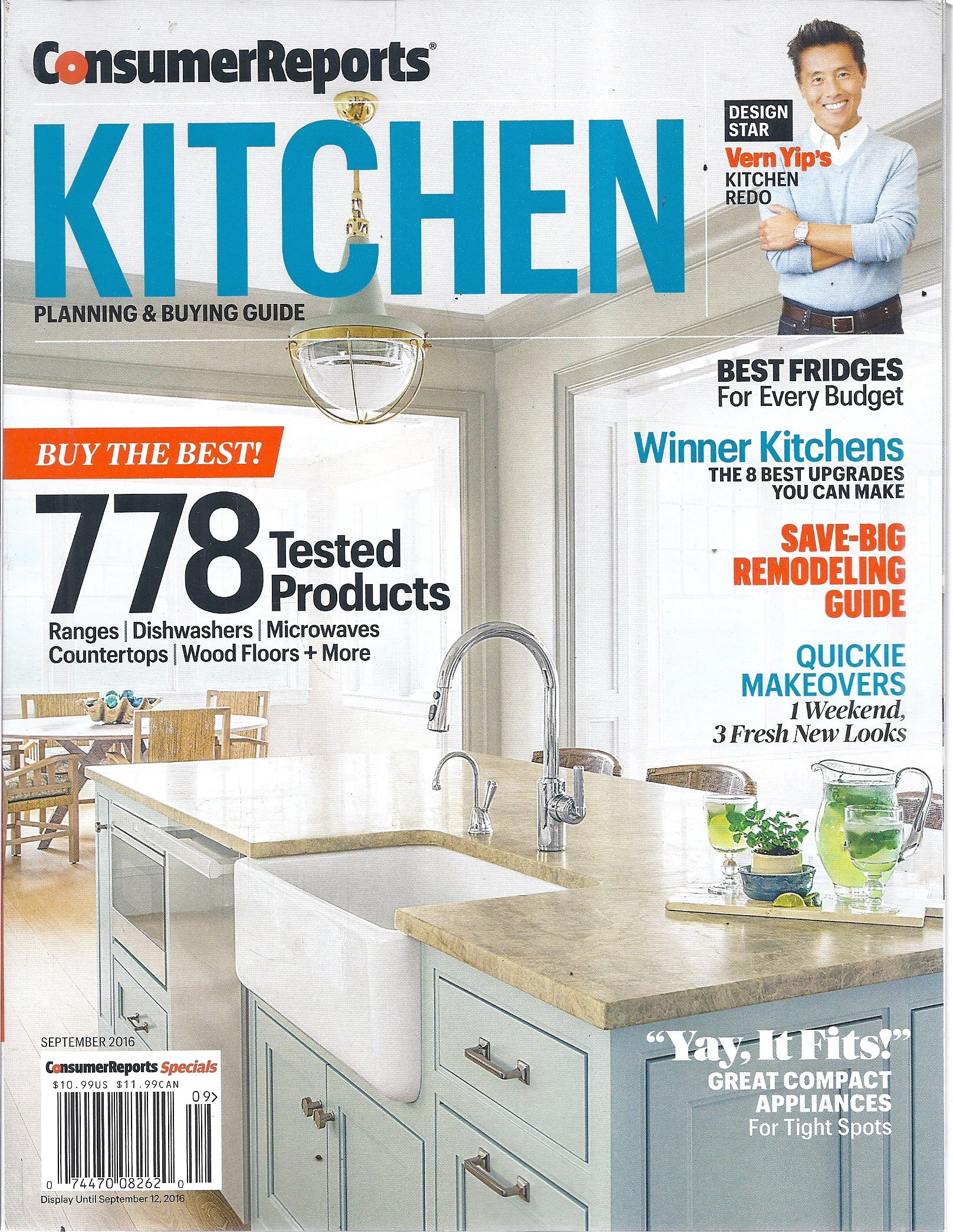 Consumer Reports Kitchen Planning September